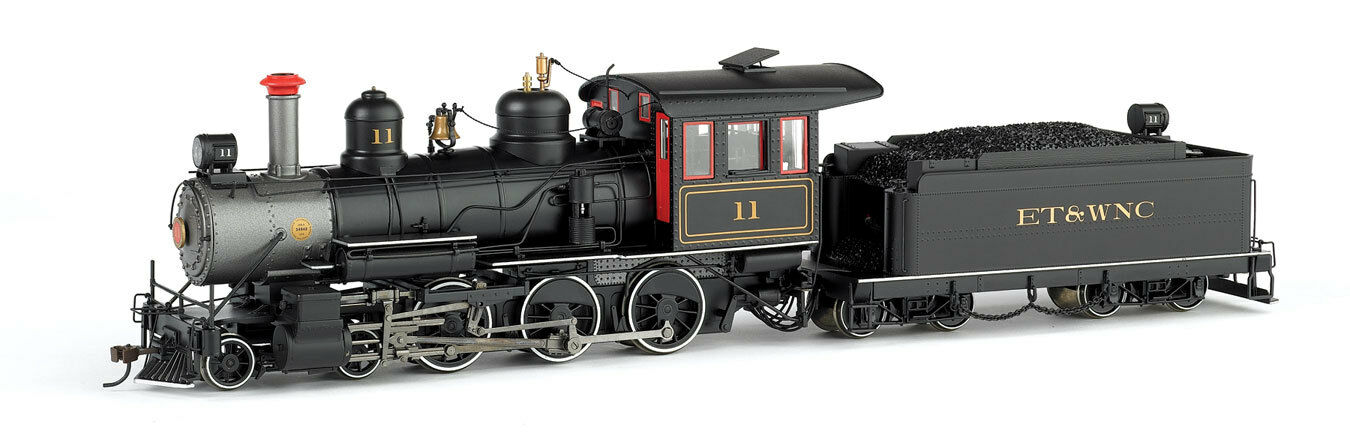 Gauge 0n30 - Baldwin 4-6-0 Steam Locomotive et & Wnc - 28671 Neu