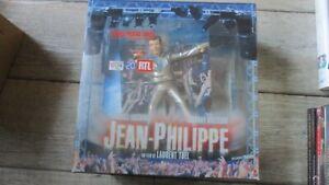 Johnny Hallyday-Coffret prestige, Jean philippe-Figurine,2 dvd,vinyle picture