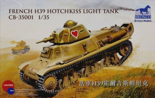 BRONCO CB35001 1//35 French H39 Hotchkiss Light Tank