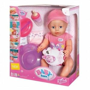 Baby Born Interactive Doll Pink Girl Doll New Sealed