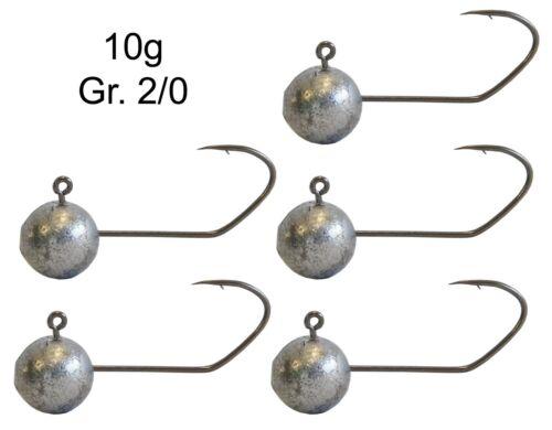 Bleiköpfe für Gummifisch Jigköpfe für Gummiköder Predax Fishing MSO Jighaken