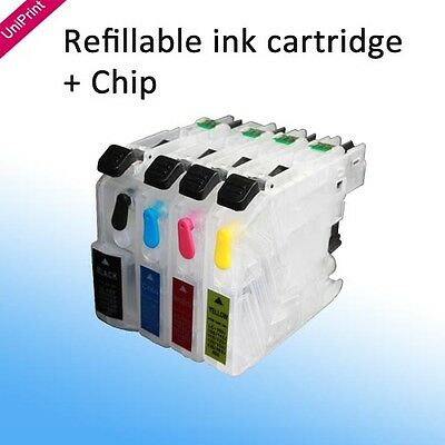 Refillable ink cartridge LC203 for Brother MFC-4320 4420 4620 5520 460 480 485