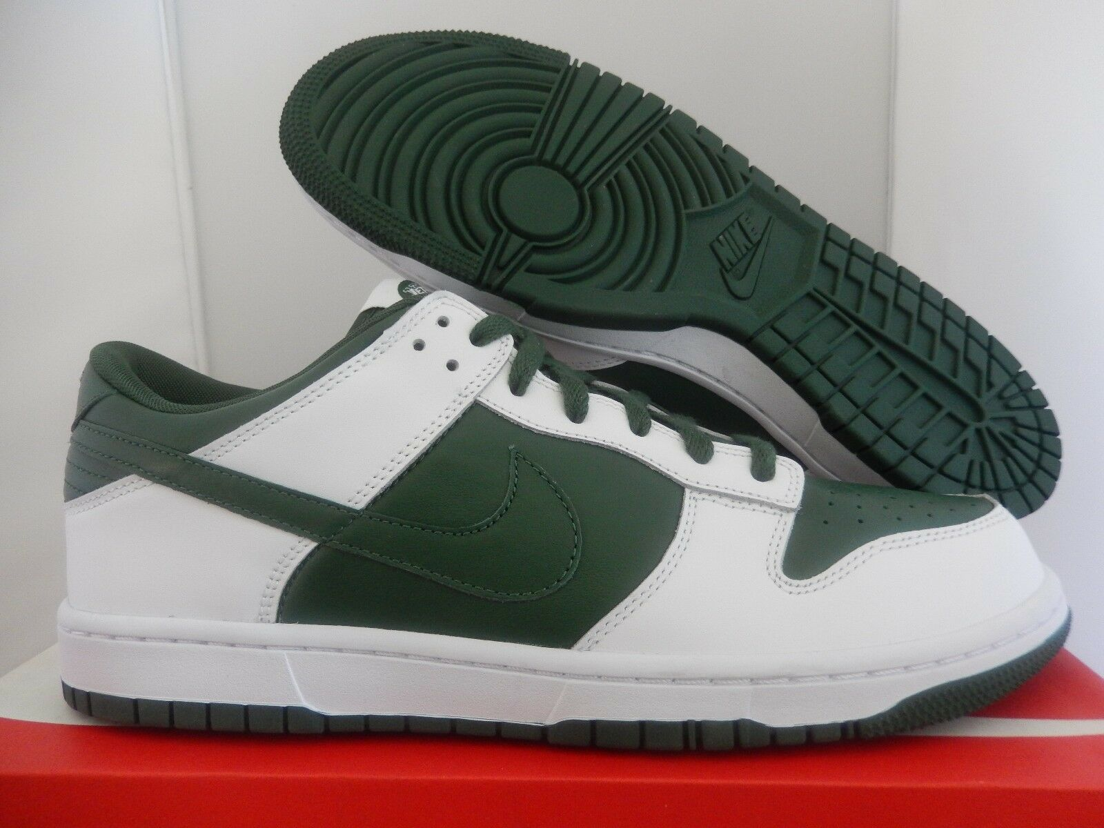 NIKE NY DUNK LOW iD NFL NY NIKE NEW YORK JETS GREEN-WHITE SZ 11.5 [535081-901] 860887