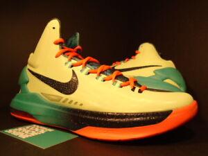 c3a984a166ad Nike Zoom KEVIN DURANT KD V 5 AS AREA 72 ALL-STAR LEMON BLUE ORANGE ...