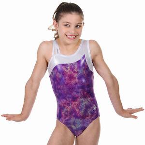 NEW!! Purple Slushie Gymnastics Leotard by Snowflake Designs