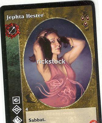 5 x Jephta Hester VTES CCG Mixed