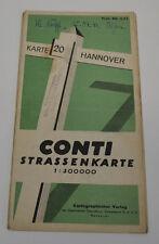 STRASSENKARTE CONTI NR.20 HANNOVER VON 1944 (AGK1118)