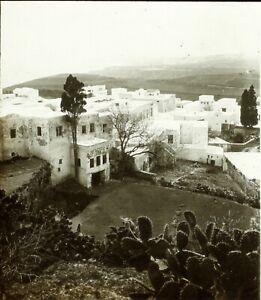 Espagne-ou-Maroc-Algerie-Tunisie-c1900-Photo-Stereo-Plaque-Verre-VR9L3n7