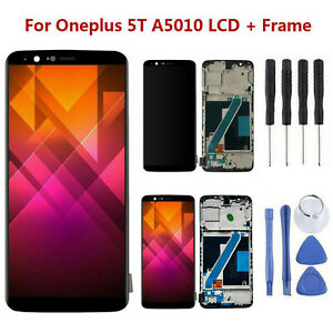 Para-Oneplus-5T-Pantalla-LCD-Tactil-Screen-Digitalizador-Asamblea-Kit-Recambios