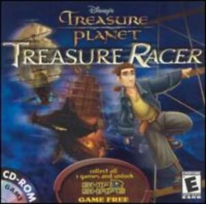 Details about Disney's Treasure Planet: Treasure Racer PC MAC CD movie  space ship racing game!