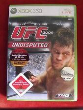 XBOX 360 Gioco UFC 2009 Undisputed USK a partire dal 18 + istruzioni