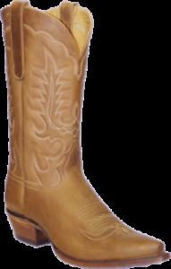 botas de estrella 13  Cuero Tostado Crazy Horse vaquero ancho M7001 EE