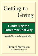 Getting to Giving Generic Hard Cover by Shirley M. Spence and Howard H....