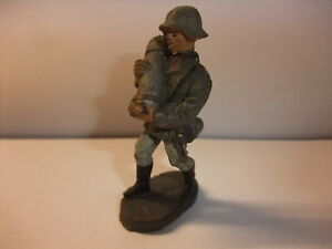 AnpassungsfäHig H1 Alte Massefigur Lineol Elastolin Figur Wehrmacht 2. Wk Soldat Mit Granate