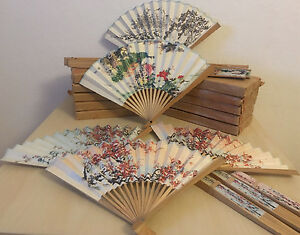 UnabhäNgig Fächer Taschenfächer Handfächer Aus Holz Farbe Natur Möbel & Wohnen Sonstige