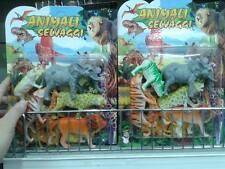 1 set di animali selvaggi savana gioco di qualità giocattolo toy a20 natale