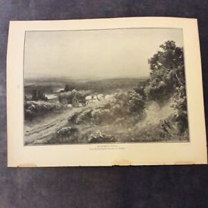 Antique-Book-Print-Illust-from-Florence-A-Saltmer-Painting-1907