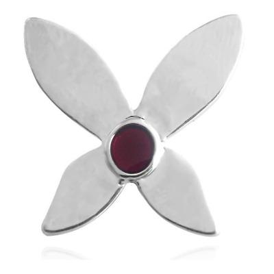 Spider Pendant Pin Brooch Black Agate Stone Energy Reiki Chakra Luck Amulet
