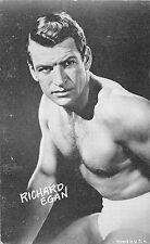 RICHARD EGAN AMERICAN ACTOR ARCADE CARD NON-PC