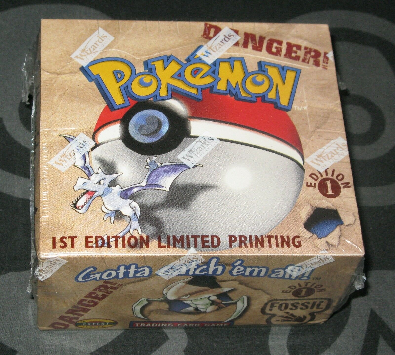 Pokemon Cards - 1st Edition Fossil Booster Box Box Box - Sealed 718885