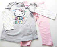 Hello Kitty Set Gr.92 Baby Club NEU Kleid Hose Long Tunika Leggings kinder ssv
