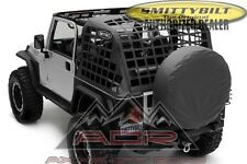 Smittybilt C.RES System Cargo Net 92-95 Jeep Wrangler YJ 521035 Black AOR