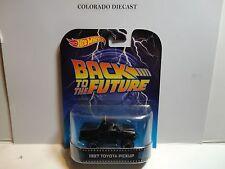Hot Wheels Retro Entertainment Back to the Future Black 1987 Toyota Pickup