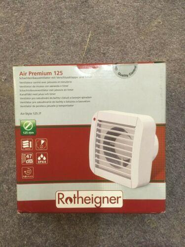 Schachteinbauventilator Rotheigner Air Premium 125 Jalousie und Timer