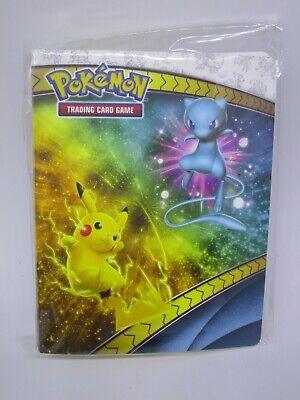 Pikachu Mew Shining Legends Mewtwo Rayquaza 60 cards Pokemon TCG Mini Binder