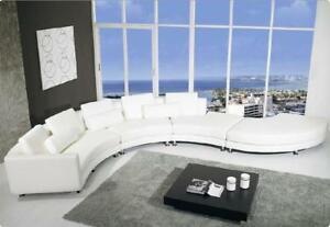 Rundsofa runde couch gro e xxl wohnlandschaft ecksofa sofa for Runde wohnlandschaft