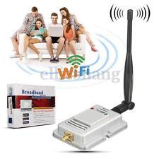 2.4G 2W Wifi Wireless Broadband Amplifier Router LAN Power Range Signal Booster
