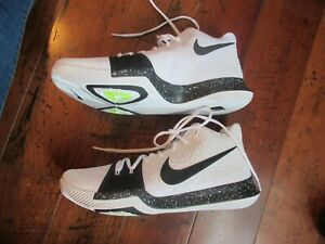 759a7ad93a8 Nike Kyrie 3 Cookies and Cream Black White 917724-100 Men s Size 14 ...