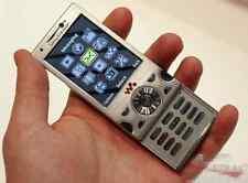 Sony Ericsson w995 Silver 3G WLAN 8MP free shipping