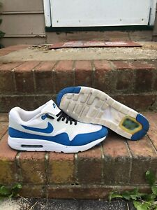 Details about Nike Air Max 1 Ultra Essential Varsity Blue Size 9.5 819476 102 Clean Read