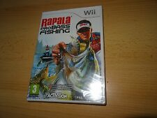Rapala Pro Bass Fishing Video Game  (Wii, 2010) New & Sealed PAL VERSION