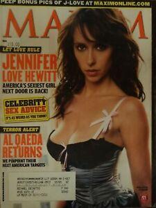 Maxim jennifer love hewitt Jessica Alba