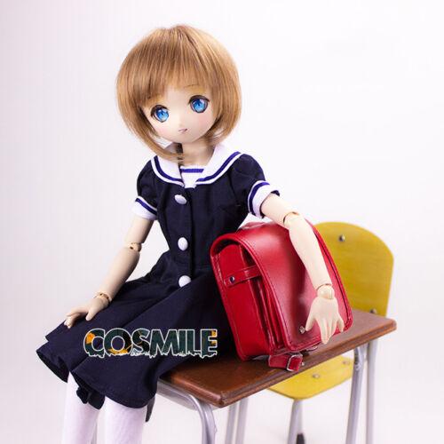 Dragon Kanna Student Sac à dos pour SD DD TDM 1//4 BJD Doll Cosplay Prop Accessoire