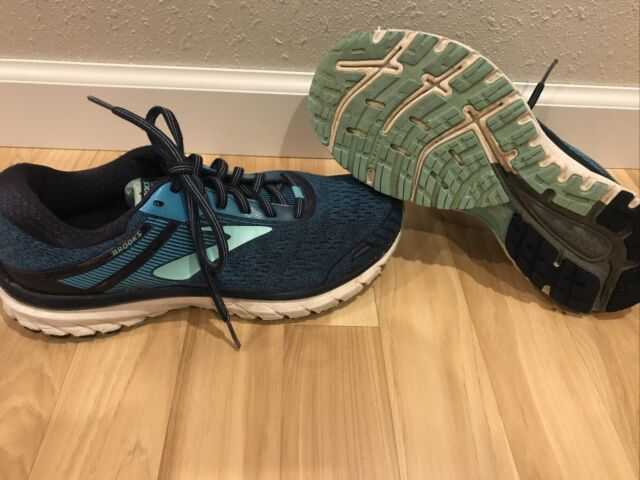 Brooks GTS Adrenaline 18 GTS Running Shoes Women's Sz 10 B 1202681B495 Blue/Teal