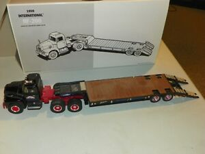 First-Gear-18-2118-Latona-Trucking-International-RF-200-Truck-Lowboy-Trailer