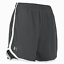 thumbnail 2 - New With Tags Women's UA Under Armour Logo Running HeatGear Athletic Gym Shorts