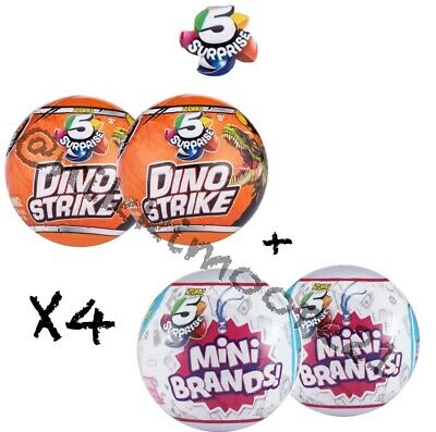 PINK Series 2* X4-BALLS 100/% REAL AUTHENTIC Zuru 5 SURPRISE NEW