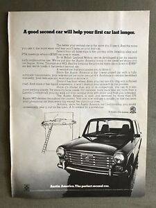 1969 Austin America Vintage Advertisement Ad P28