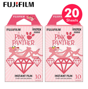 2-Pack-Pink-Panther-Fujifilm-Instax-Mini-Instant-Film-For-Mini-7s-25-50s-90-SP-1