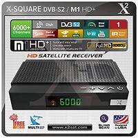 X2 Hd Dvb-s2 (fta) With Iptv Mini Hybrid Satellite Receiver - Edition