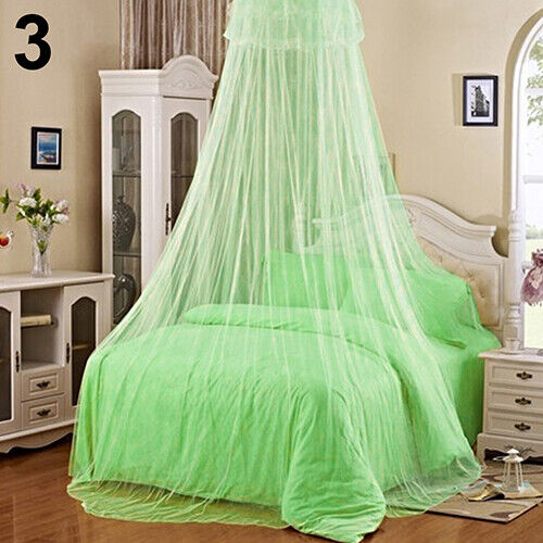 Trendy Lace Insect Bed Canopy Netting Curtain Round Dome Mosquito Net Bedding Co