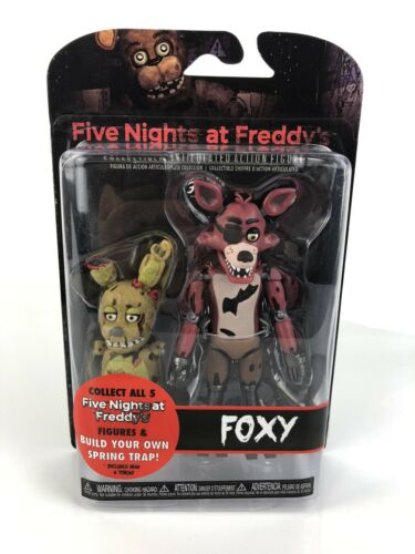 Five Nights At Freddys Spring Trap FNAF Funko Foxy Articulated Action Figure New