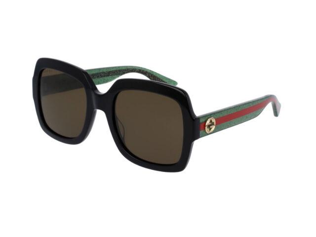9398e8dc11 Gucci Urban GG 0036s Sunglasses 002 Black 100 Authentic for sale ...