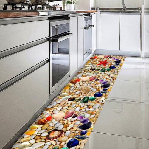 DIY Stairway Decal Floor Wall Stickers Self-adhesive 3D Pebbles// Marble Mural