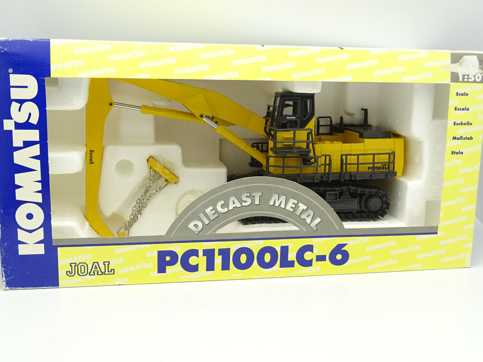 Joal  btp tp 1 50 - komatsu excavator magnet pc1100 lc6  60% de réduction