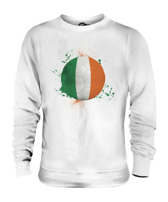 IRELAND FOOTBALL UNISEX SWEATER  TOP GIFT WORLD CUP SPORT